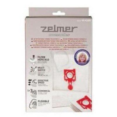 Пылесборник для пылесоса Zelmer ZVCA200B 4 мешка+впускной фильтр (ZVCA200B)
