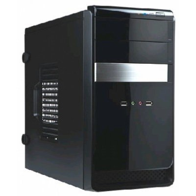 Корпус системного блока INWIN EMR034 450W Black/silver (6100464)Корпуса системного блока INWIN<br>Black 450W mATX<br>