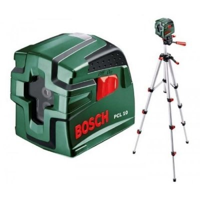 Нивелир Bosch Лазерный PCL 10 SET (0603008121)Нивелиры Bosch<br>Автоматическое нивелирование всего з анесколько секунд - точная и бытсрая работа без необбходимости ручного выравнивания<br>Простое и интуитивное управление<br>Встроенная резьба  подходит для всех распространенных моделей штативов<br>Рукоятка с мягкой накладкой для более надёжного и удобного захвата<br>