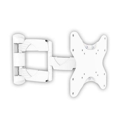 Кронштейн для ТВ и панелей настенный Arm Media COBRA-206 15-40 (10098)Кронштейн для ТВ и панелей Arm Media<br>ARM Media Cobra-206 - надежный настенный кронштейн, предназначенный для телевизоров с диагональю экрана 15-40. Максимальная допустимая нагрузка составляет 35 кг. Предоставляет возможность регулирования угла наклона и поворота. Монтируется быстро и просто, не требуя привлечения специалист ...<br>