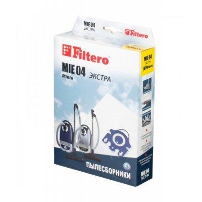 Пылесборник для пылесоса Filtero MIE 04 (4) Экстра (MIE 04 (4) ЭКСТРА)Пылесборники для пылесосов Filtero<br><br>