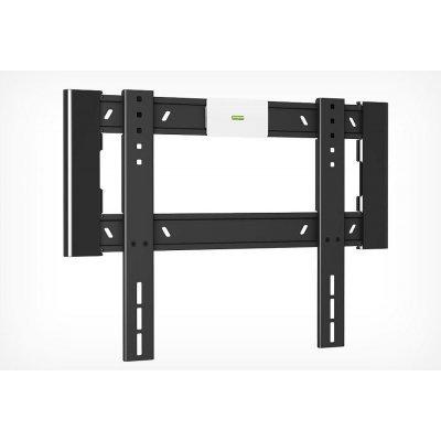 Кронштейн для ТВ и панелей настенный Holder LCD-F4607-B 35-65 черный (LCD-F4607-B)Кронштейн для ТВ и панелей Holder<br>Диагональ экрана<br>    32 65<br>    Нагрузка<br>    Выдерживает вес до 40 кг<br>    Крепежные отверстия<br>    200х200, 200х300, 300х300, 400х200, 400х400 мм<br>    Расстояние от стены<br>    18 мм<br>    Цвет<br>    черный<br>