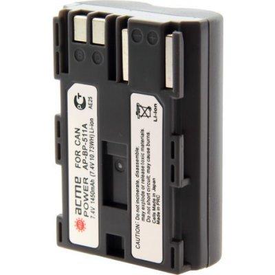 Аккумулятор ACME POWER AP-BP-511 для CANON (AP-BP-511)Аккумуляторы для фотоаппарата AcmePower<br>для фотоаппарата (7.4V, 1450 mAh, Li-ion)<br>