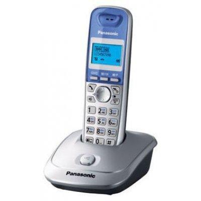 Радиотелефон Panasonic KX-TG2511RUW белый (KX-TG2511RUW) радио телефон panasonic kx tg2512 ru1 grey metallic