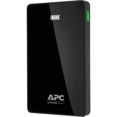 Внешний аккумулятор APC 10000mAh Li-polymer, Black M10BK-EC (M10BK-EC) внешний аккумулятор apc mobile power pack 5000mah li polymer white m5wh ec