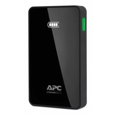 Внешний аккумулятор для портативных устройств APC 5000mAh Li-polymer, Black M5BK-EC (M5BK-EC) внешний аккумулятор apc mobile power pack 5000mah li polymer white m5wh ec