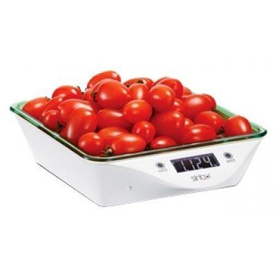Весы кухонные Sinbo SKS 4520 зеленый (SKS 4520)Весы кухонные Sinbo<br>Sinbo SKS-4520 - это кухонные весы, которые станут незаменимым помощником на вашей кухне. Данная модель позволит не ошибиться при взвешивании или дозировании продуктов, а если вы на диете, то даст возможность правильно приготовить пищу, следуя рецепту.<br>