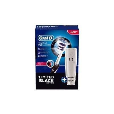 Зубная щетка электрическая Braun Oral-B Trizone 1000 черный + футляр для путешествий (81436032)