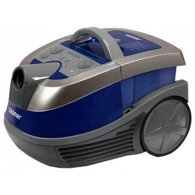 Пылесос Zelmer ZVC752SPRU синий 919.0SP (ZVC752SPRU) пылесос zelmer zvc762zpru с мешком сухая влажная уборка 1500вт серо оранжевый vc7920 5sp