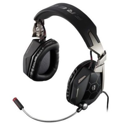 Компьютерная гарнитура Mad Catz PC  Cyborg F.R.E.Q.5 Stereo Headset black (CCB434030002/02/1)