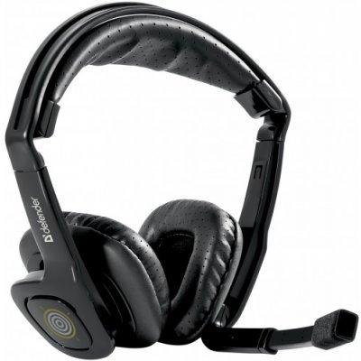 Наушники Defender Warhead HN-G150 (64104)Наушники Defender<br>Компьютерные наушники Defender Warhead HN-G150 - прекрасное сочетание объемного звука и вибрации. Наушники созданы для просмотра фильмов, прослушивания музыки и компьютерных игр. Для того чтобы включить функцию объемного звучания и получать максимальное удовольствие от игр, требуется установить драй ...<br>