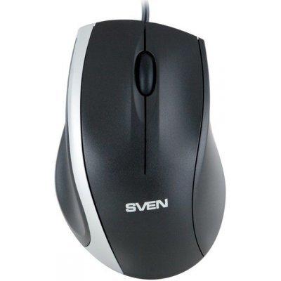 Мышь SVEN RX-180 (SV-03200180UB)Мыши SVEN<br>Проводная оптическая мышь Sven RX-180 USB создана для персонального компьютера. Классический дизайн подойдет как левшам, так и правшам. Благодаря оптическому сенсору с разрешающей способностью 800 dpi, движения Вашего курсора будут всегда точными. Отметим, что Sven RX-180 работает на любой поверхнос ...<br>