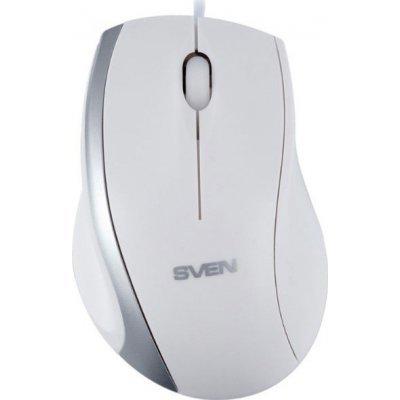 Мышь SVEN RX-180 белая (SV-03200180UW) клавиатура проводная sven sv 0310