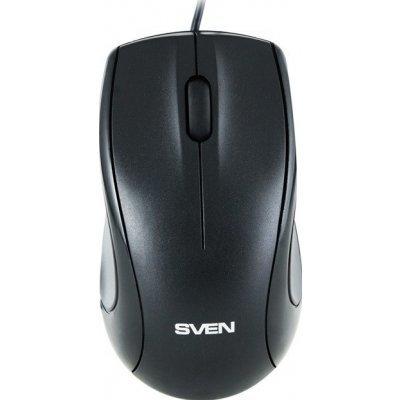 Мышь SVEN RX-150 USB (SV-03200150UB)Мыши SVEN<br>Проводная мышь Sven RX-150 USB+PS/2 создана на базе высокоточной оптической технологи. Модель RX-150 позволит Вам работать на любой поверхности. Она отличается классическим дизайном и подойдет как левшам, так и правшам. Оптический сенсор с разрешающей способностью 800 dpi сделает движение вашего кур ...<br>