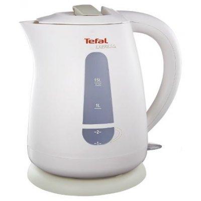 Электрический чайник Tefal KO 29913E (7211000396)Электрические чайники Tefal<br>чайник<br>    объем 1.5 л<br>    мощность 2200 Вт<br>    закрытая спираль<br>    установка на подставку в любом положении<br>    пластиковый корпус<br>    индикация включения<br>