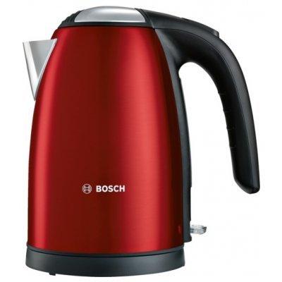 Электрический чайник Bosch TWK7804 красный (TWK7804) чайники электрические bosch чайник электрический bosch twk6a014 2400вт красный
