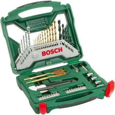 Набор инструментов Bosch X-Line Titanium 2607019327, 50 предметов (2607019327) набор сверл bosch x line 100 100 предметов 2607019330