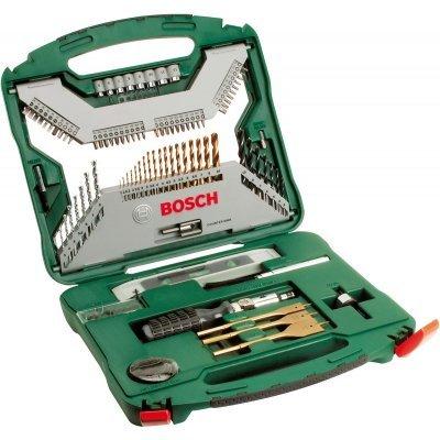 Набор инструментов Bosch X-Line Titanium 2607019330, 100 предметов (2607019330) набор сверл bosch x line 100 100 предметов 2607019330