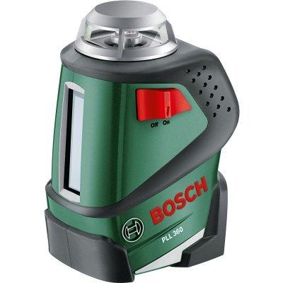 Нивелир Bosch лазерный PLL 360 SET + штатив (0603663001)Нивелиры Bosch<br>Bosch PLL 360 SET 0603663001 - лазерный нивелир, предназначенный для использования, как в домашних условиях, так и на строительный объектах. Применяется преимущественно при выполнении отделочных работ. Нивелир оснащен лазером с яркими лучами, обеспечивающими хорошую видимость в любых условиях. Панел ...<br>