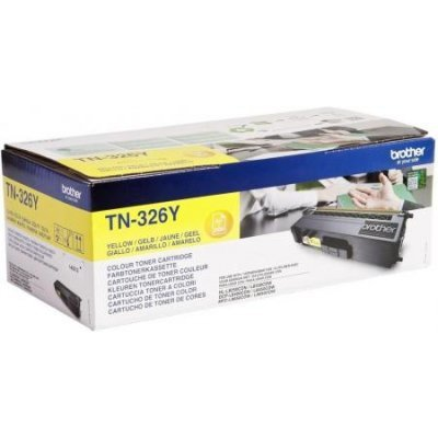 Тонер-картридж для лазерных аппаратов Brother TN326Y (TN326Y)Тонер-картриджи для лазерных аппаратов Brother<br>для HL-L8250CDN, MFC-L8650CDW жёлтый повышенной ёмкости (3500 стр)<br>