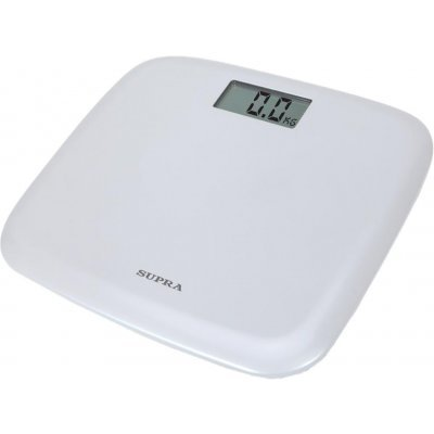 Весы Supra напольные электронные BSS-6050 белый (BSS-6050 белый)
