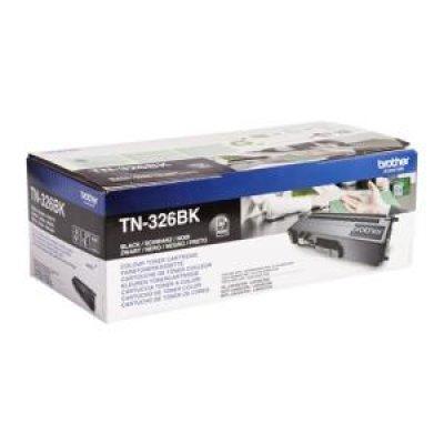 Тонер-картридж для лазерных аппаратов Brother TN326BK (TN326BK)Тонер-картриджи для лазерных аппаратов Brother<br>для HL-L8250CDN, MFC-L8650CDW чёрный повышенной ёмкости (4000 стр)<br>
