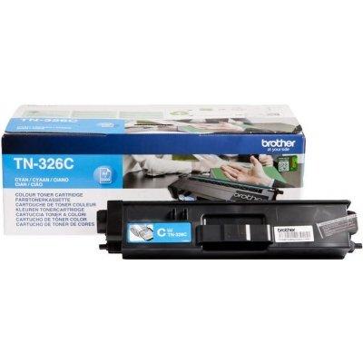 Тонер-картридж для лазерных аппаратов Brother TN326C голубой повышенной ёмкости (TN326C)Тонер-картриджи для лазерных аппаратов Brother<br>для HL-L8250CDN, MFC-L8650CDW  (3500 стр)<br>