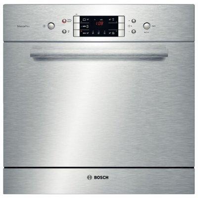 Посудомоечная машина Bosch SCE52M55RU (SCE52M55RU)Посудомоечные машины Bosch<br>Тип: компактная<br>    Установка: встраиваемая частично<br>    Вместимость: 8 комплектов<br>    Класс энергопотребления: A<br>    Класс мойки: A<br>    Класс сушки: A<br>    Тип управления: электронное<br>    Дисплей<br>    Расход воды: 9 л<br>    Энергопотребление за цикл: 0.73 кВтч<br>    Уровень шума при работе: 47 дБ<br>    Кол ...<br>