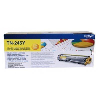 Тонер-картридж для лазерных аппаратов Brother TN245Y (TN245Y)Тонер-картриджи для лазерных аппаратов Brother<br><br>