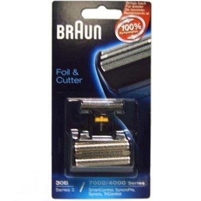 Сетка для бритвы Braun Сетка+реж.блок (30B) Series3/7000 Syncro (Series3 30B(Сет+р.б)) braun 30b foil