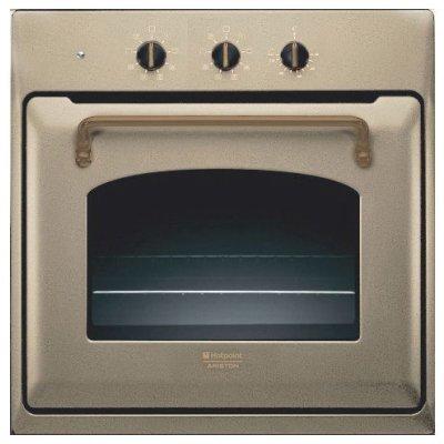 Электрический духовой шкаф Hotpoint-Ariston FT 820.1 (AV) /HA S (FT 820.1 (AV) /HA S)Электрические духовые шкафы Hotpoint-Ariston<br>электрическая независимая<br>    59.5 х 59.5 x 54.5 см<br>    поворотные переключатели<br>    класс А по энергопотреблению<br>    конвекция<br>    гриль<br>