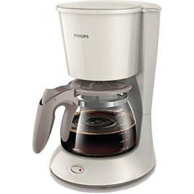 Кофеварка Philips HD7447/00 бежевый (HD7447/00  бежевый)Кофеварки Philips<br>Philips HD 7447 - компактная кофеварка капельного типа, позволяет приготовить качественный бодрящий напиток. Если по какой-то причине вы не выпьете кофе сразу, подогреваемая платформа сохранит его горячим какое-то время. Кувшин кофеварки рассчитан на 1,2 л кофе — около 10–15 чашек. С помощью данной  ...<br>