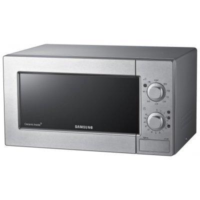 Микроволновая печь Samsung GE83KRS-3 700W серебристый (GE83KRS-3/BW серебристый)Микроволновые печи Samsung<br>Расположение:<br><br>Отдельностоящая<br>Внутренний объем:<br><br>23<br>Размеры:<br><br>27.5 X 48.9 X 37<br>Вес:<br><br>12.5<br>Тип управления:<br><br>электронное<br>Мощность микроволн:<br><br>800<br>