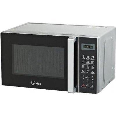 Микроволновая печь Midea EG820CXX-W 800W белый (EG820CXX-W белый)Микроволновые печи Midea<br>объем 20 л<br>    отдельно стоящая<br>    мощность 800 Вт<br>    гриль<br>    электронное управление<br>    сенсорная панель<br>    дисплей<br>
