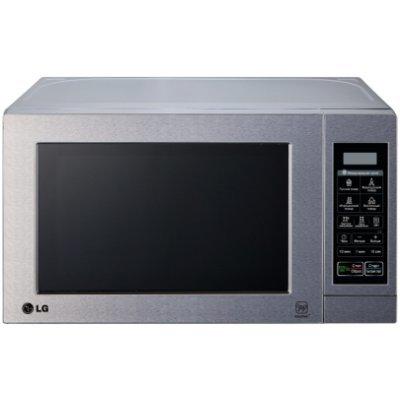 Микроволновая печь LG MH6044V 700W серебристый (MH6044V) микроволновая печь с грилем lg mh 6022d