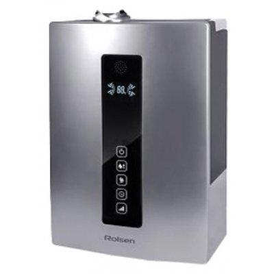 Увлажнитель и очиститель воздуха Rolsen RAH-766 серебристый (1-RLHF-RAH-776SILVER)Увлажнитель и очиститель воздуха Rolsen<br>увлажнитель<br>    ультразвуковой<br>    для жилых комнат и небольших офисов<br>    изменение потока увлажненного воздуха<br>    регулировка скорости работы<br>    работа от сети<br>