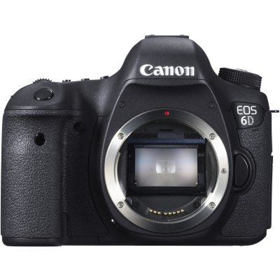 Цифровая фотокамера Canon EOS 6D BODY black (8035B004)Цифровые фотокамеры Canon<br>20.2Mpix 3.2 1080p SDHC WiFi GPS Корпус, без объективаLi-Ion<br>