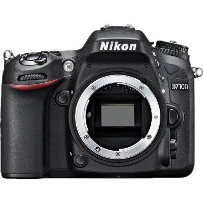 Цифровая фотокамера Nikon D7100 BODY black (VBA360AE)Цифровые фотокамеры Nikon<br>24.1Mpix 3.2 1080p SD Корпус, без объективаEN-EL15<br>