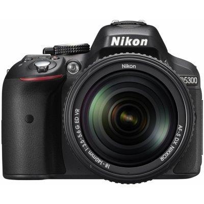 Цифровая фотокамера Nikon D5300 (VBA370K002) профессиональная цифровая slr камера nikon d3200 vr18 55 kit