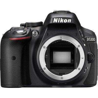 Цифровая фотокамера Nikon D5300 VBA370K004 (VBA370K004) профессиональная цифровая slr камера nikon d3300 18 55vrii