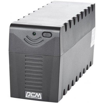 Источник бесперебойного питания Powercom RPT-600A EURO (RPT-600A EURO)Источники бесперебойного питания Powercom<br>Powercom Raptor RPT-600A - это сверхкомпактный интерактивный ИБП. Он предназначен для защиты персональных компьютеров, рабочих станций от основных неполадок с электропитанием.<br>