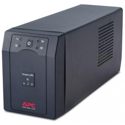 Источник бесперебойного питания APC Smart-UPS SC 620VA 230V (SC620I) apc smart ups sc sc620i
