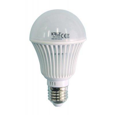 Светодиодная лампа KREZ Light 9W (4BM-WH126-02)Лампы светодиодные KREZ<br>Светодиодные лампы KREZ, благодаря традиционной форме обычных ламп накаливания, подходят для большинства типов светильников и обеспечивают хороший световой поток. Лампы KREZ излучают теплый белый свет и могут использоваться для обычного или декоративного освещения внутри помещений. Лампы KREZ устойч ...<br>