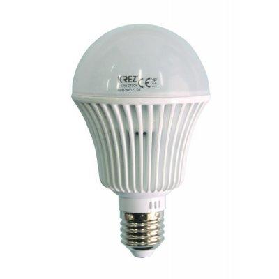 Светодиодная лампа KREZ Light 12W (4BM-WH127-03)Лампы светодиодные KREZ<br>Светодиодные лампы KREZ, благодаря традиционной форме обычных ламп накаливания, подходят для большинства типов светильников и обеспечивают хороший световой поток. Лампы KREZ излучают теплый белый свет и могут использоваться для обычного или декоративного освещения внутри помещений. Лампы KREZ устойч ...<br>