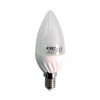 Светодиодная лампа KREZ Light 5W (4CM-WH224-02)Лампы светодиодные KREZ<br>Светодиодные лампы KREZ, благодаря традиционной форме обычных ламп накаливания, подходят для большинства типов светильников и обеспечивают хороший световой поток. Лампы KREZ излучают теплый белый свет и могут использоваться для обычного или декоративного освещения внутри помещений. Лампы KREZ устойч ...<br>