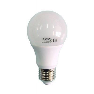 Светодиодная лампа KREZ Light 7W (4GM-WH125-04)Лампы светодиодные KREZ<br>Светодиодные лампы KREZ, благодаря традиционной форме обычных ламп накаливания, подходят для большинства типов светильников и обеспечивают хороший световой поток. Лампы KREZ излучают теплый белый свет и могут использоваться для обычного или декоративного освещения внутри помещений. Лампы KREZ устойч ...<br>