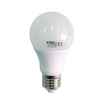 Светодиодная лампа KREZ Light 9W (4GM-WH126-05)Лампы светодиодные KREZ<br>Светодиодные лампы KREZ, благодаря традиционной форме обычных ламп накаливания, подходят для большинства типов светильников и обеспечивают хороший световой поток. Лампы KREZ излучают теплый белый свет и могут использоваться для обычного или декоративного освещения внутри помещений. Лампы KREZ устойч ...<br>