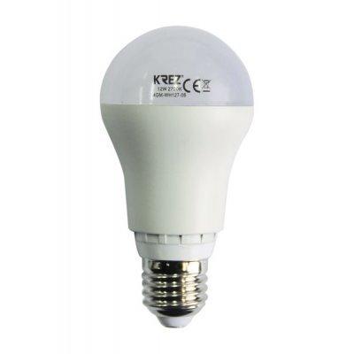 Светодиодная лампа KREZ Light 12W (4GM-WH127-06)Лампы светодиодные KREZ<br>Светодиодные лампы KREZ, благодаря традиционной форме обычных ламп накаливания, подходят для большинства типов светильников и обеспечивают хороший световой поток. Лампы KREZ излучают теплый белый свет и могут использоваться для обычного или декоративного освещения внутри помещений. Лампы KREZ устойч ...<br>