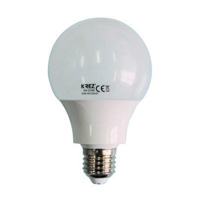 Светодиодная лампа KREZ Light 9W (4GM-WH126-02)Лампы светодиодные KREZ<br>Светодиодные лампы KREZ, благодаря традиционной форме обычных ламп накаливания, подходят для большинства типов светильников и обеспечивают хороший световой поток. Лампы KREZ излучают теплый белый свет и могут использоваться для обычного или декоративного освещения внутри помещений. Лампы KREZ устойч ...<br>
