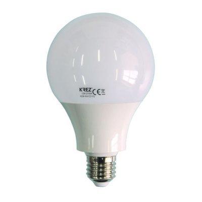 Светодиодная лампа KREZ Light 12W (4GM-WH127-03)Лампы светодиодные KREZ<br>Светодиодные лампы KREZ, благодаря традиционной форме обычных ламп накаливания, подходят для большинства типов светильников и обеспечивают хороший световой поток. Лампы KREZ излучают теплый белый свет и могут использоваться для обычного или декоративного освещения внутри помещений. Лампы KREZ устойч ...<br>